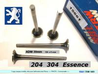 Soupapes Admission PEUGEOT 204 304 essence  30 x 126 x 8mm 1409 (les 4)